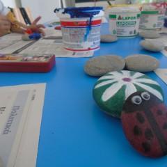 Ζωγραφική σε πέτρα!!!
